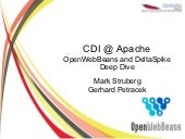 OpenWebBeans and DeltaSpike at Apac...