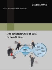 The Financial Crisis of 2015: An Av...