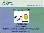 On Beyond OWL: challenges for ontologies on the Web