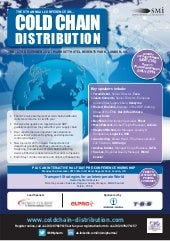 SMi Group's 8th annual Cold Chain D...