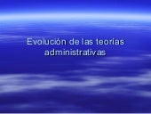 P Evoluci+¦N De Las Teor+¡As Admini...