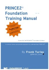 PRINCE2 Foundation Training Manual