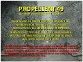 Propellant 49 - The BEST Ice Melter!