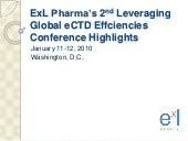 Highlights from ExL Pharma's 2nd Le...