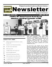 Paarl newsletter 2008 vol1