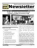 Paarl newsletter 2009 vol1 2