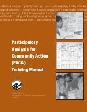 Participatory Analysis for Communit...