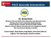 PACE Australia Intervention