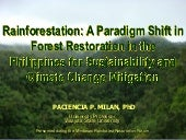 MINDANAO COURSE - Rainforestation: ...