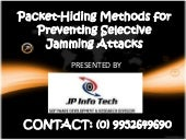 Packet hiding methods for preventin...