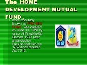Pag Ibig Housing Program