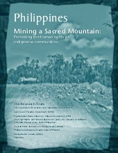 Mining a Sacred Mountain:Protecting...