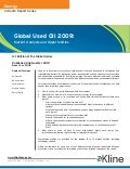 Global Used Oil 2009: Market Analysis and Opportunities