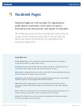 Facebook Pages manual (Feb 10, 2011)