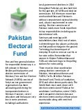 Pakistan Electoral Fund