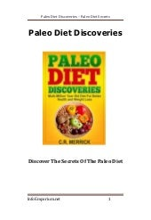 Paleo Diet Discoveries