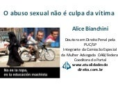 Palestra Unisul: Abuso Sexual - Ali...