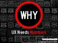 UX STRAT 2013: Pamela Pavliscak, Why UX Needs Numbers