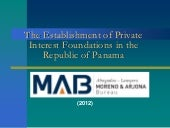 Panama Foundations