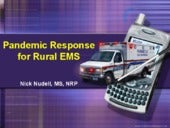 Pandemic Response For Rural EMS