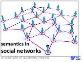 semantics in social networks