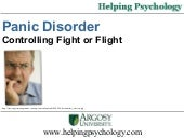 Panic Disorder : Controlling Fight ...