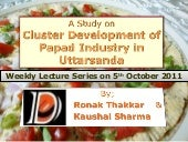 A Study on Cluster Development of P...