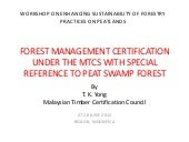 Forest Management Certification und...