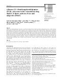 4-Bromo-2,5-dimethoxyphenethylamine (2C-B): presence in the recreational drug market in Spain, pattern of use and subjective effects