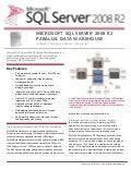 Microsoft SQL Server 2008 - Parallel Data Warehouse Datasheet