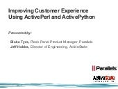 Improving Customer Experience Using...