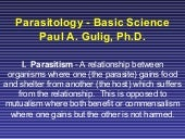 Parasitology  Basic 08d