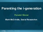 Parenting the i-Generation