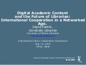 Digital Academic Content and the Fu...