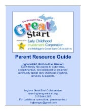 Ingham County Parent Resource Guide
