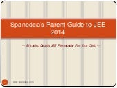 Parents guide to jee for 2014