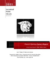 Parent survey BMS 2011