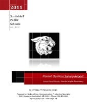 Parent survey Lincoln Heights 2011