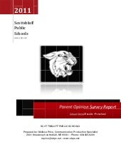 Parent survey Preschool 2011