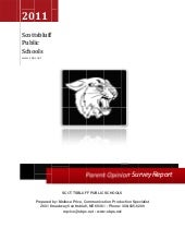 Parent survey report District