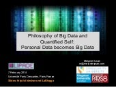 Quantified Self Ideology:  Personal...