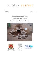 Archaeological Report - Park 1, Co....