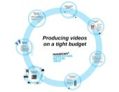 Creating video content on a tight budget. Creatives Group, 11 September 2014.