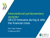 OECD forecasts - Parliamentary Days...
