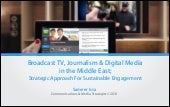 Part01 broadcast TV in the middle East and digital media_ Strategic Approach