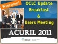 Part 1   OCLC Update Breakfast and Members Meeting PPT Antonio Alba - Daniel Boivin