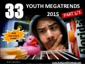 33 Youth Megatrends of 2015