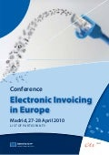 Participants of the electronic invoicing in europe conference