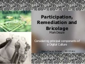 Participation, Remediation And Bric...