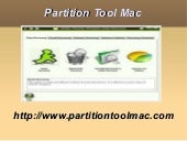 Partition Tool Mac